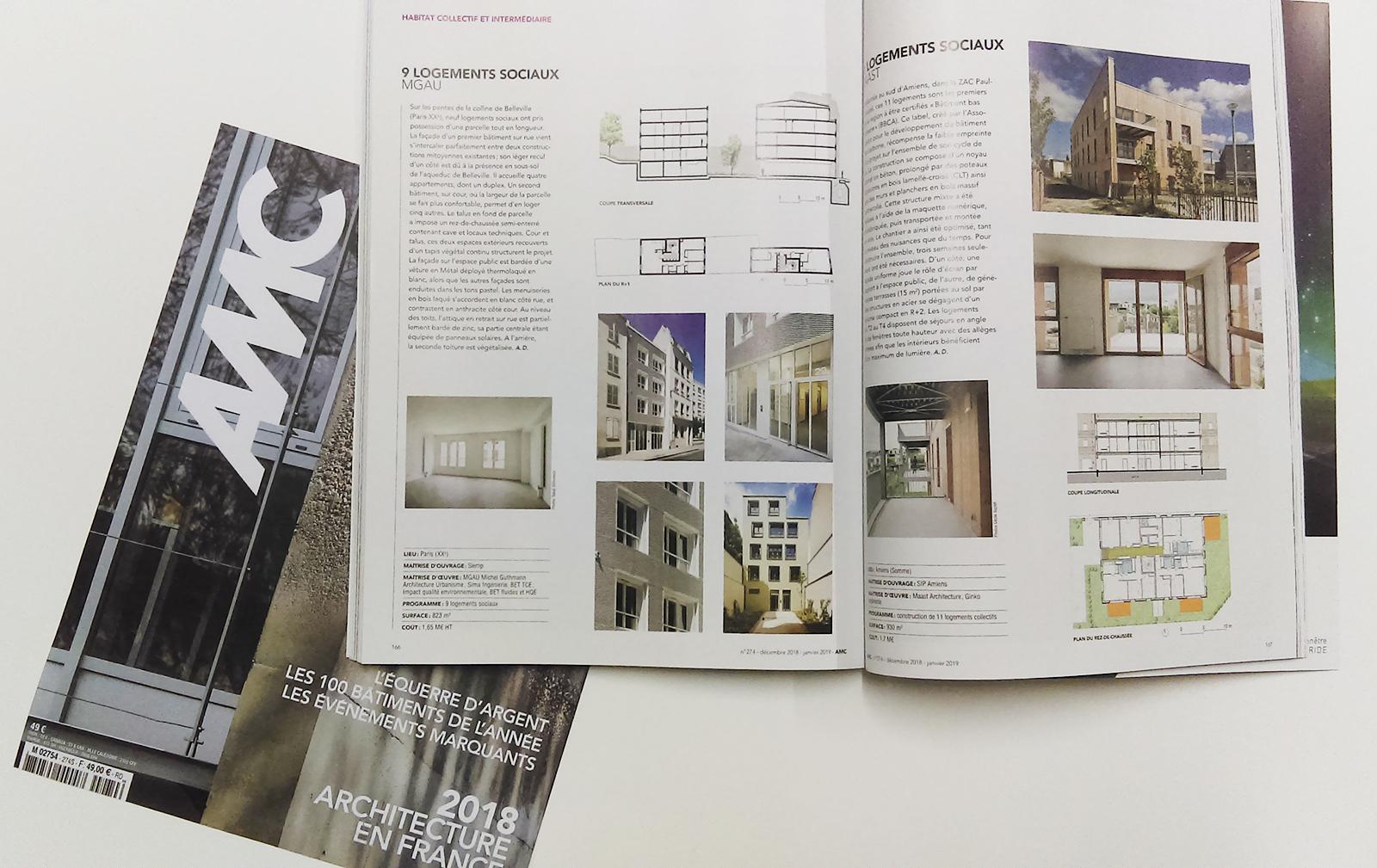 Mg au michel guthman architecture & urbanisme